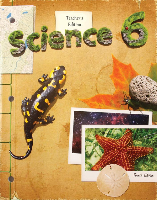 BJU Press Science 6 Teacher's Edition