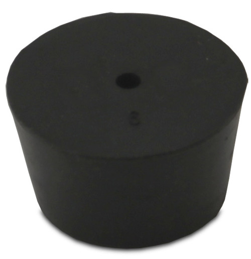 Rubber Stopper, #9, 1-hole