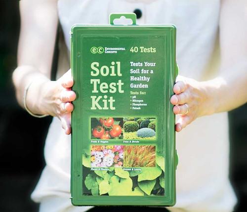 soil test kit box
