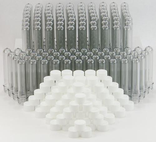 Giant Test Tubes (Baby Soda Bottles), 120 pack