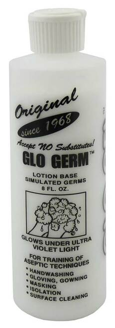 Glo Germ Gel, 8 oz.
