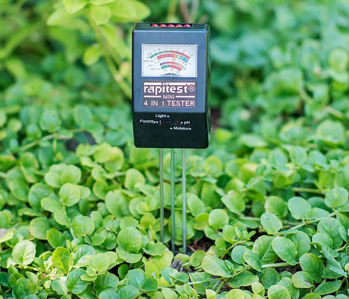 Rapitest Mini 4-in-1 Soil Tester
