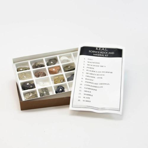 Basic Rock & Mineral Set, 15 specimens
