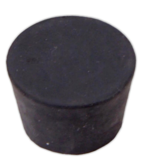 Rubber Stopper, #8, solid