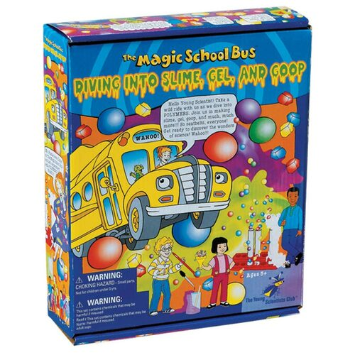 The Magic School Bus Diving into Slime, Gel, and Goop