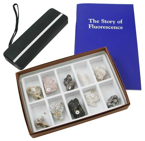Fluorescent Minerals Kit - Shortwave
