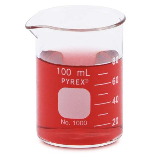 PYREX Beaker, Low Form, 100 ml