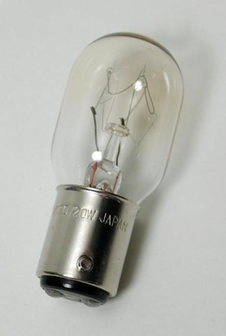 Bulb, 20 watt, 110-120 volt tungsten