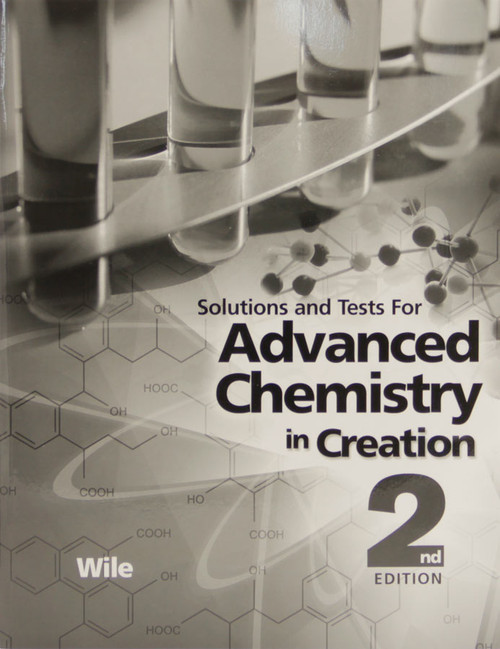 Apologia Advanced Chemistry - Tests & Key