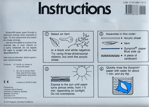 Super Sunprint Kit