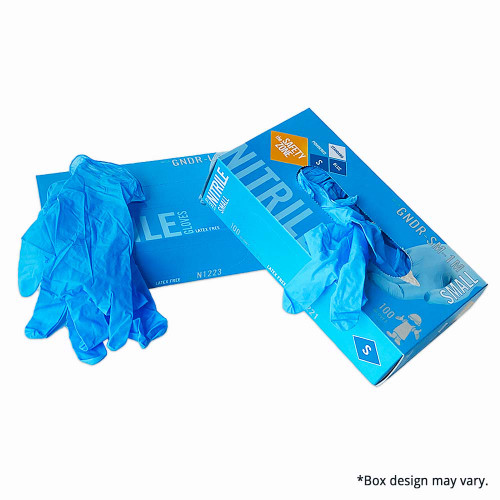 Nitrile Disposable Gloves, assorted