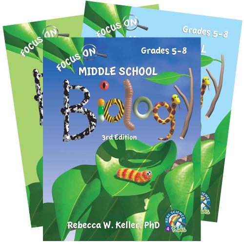 Focus On Middle School Biology Set