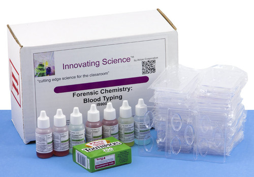 Forensic Chemistry of Blood Types Kit