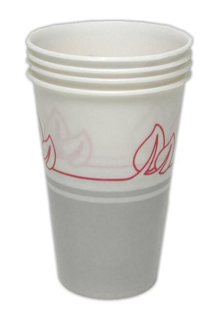Cup, paper, 8 oz, 4 pack