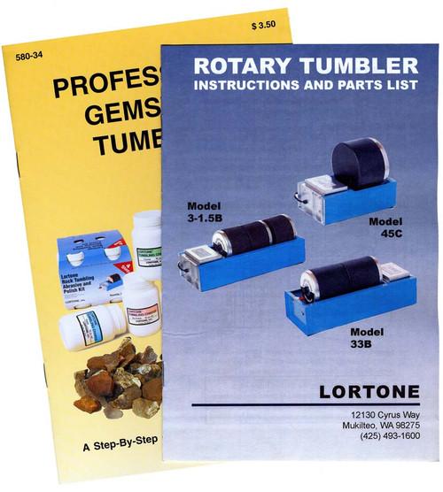 Lortone 33B Double-Barrel Rock Tumbler