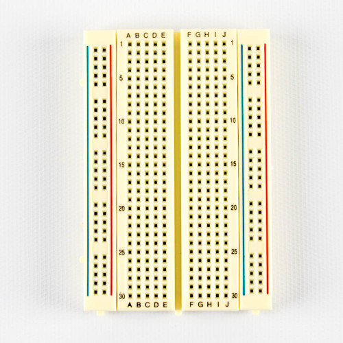 Breadboard, 400 point, solderless, plug in