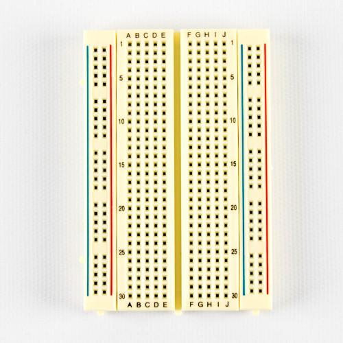 Breadboard, 400 point, solderless, plug in