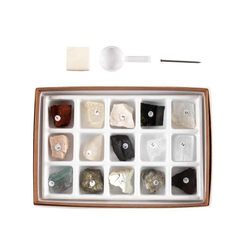 Mineral Study Kit, 15 specimens