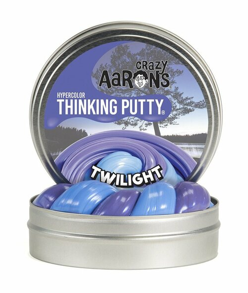 Twilight Blue Thinking Putty