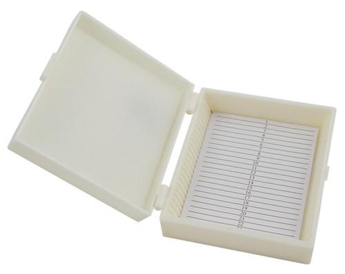 Slide storage box, 25 slides