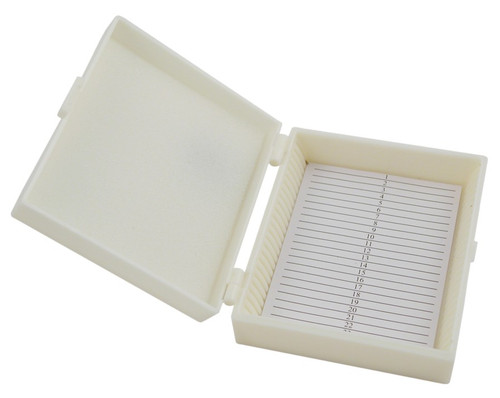Slide storage box, 25 slides