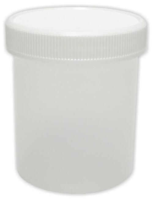 Jar, 125 ml (4 oz), plastic