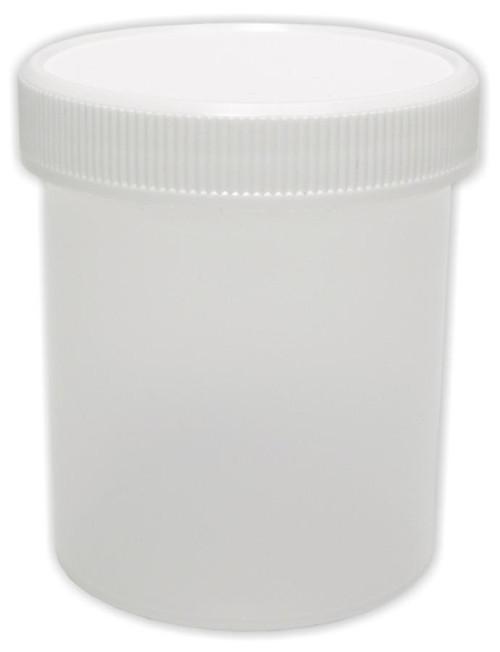 Jar, 125 ml (4 oz), plastic