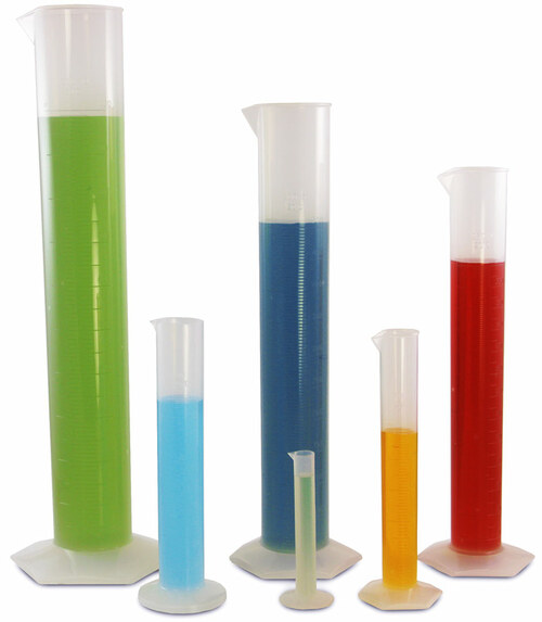 plastic cylinders set of 6