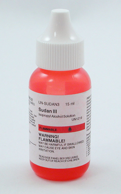 Sudan III Stain, solution, 15 ml