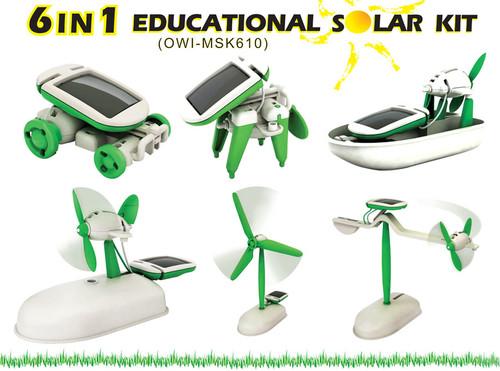 OWI 6-in-1 Educational Solar Kit