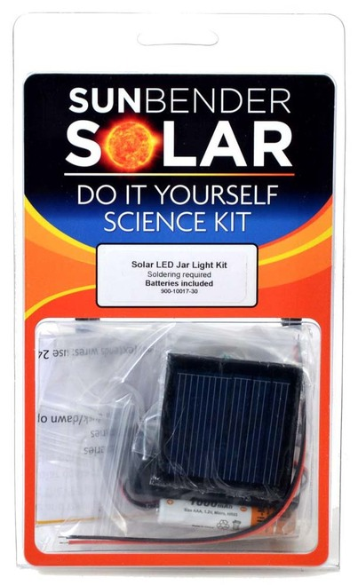 SunBender Solar LED Jar Light Kit