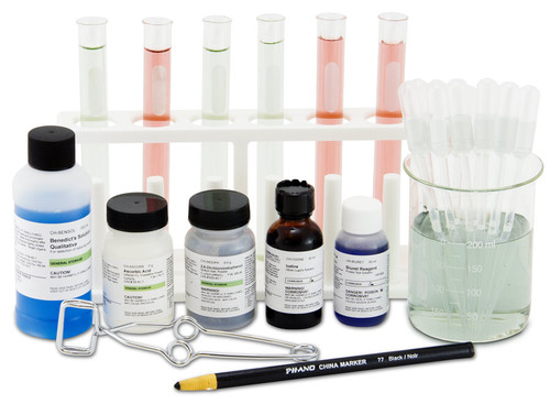 food science kit tools and components