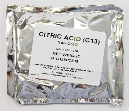 Citric Acid, food grade, 8 oz