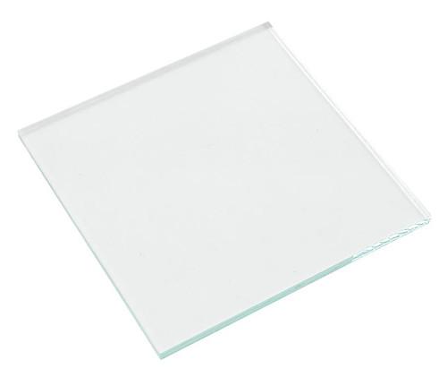 "Plate, glass, 2x2"""