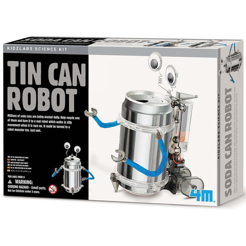 4M Tin Can Robot Kit