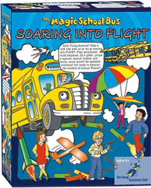 The Magic School Bus Soaring into Flight