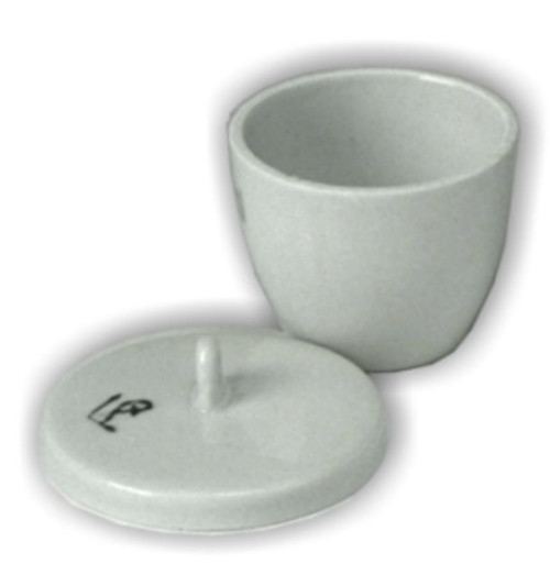 Crucible & Lid, 15 ml, high form