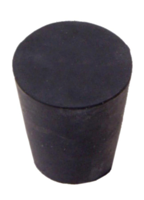 Rubber Stopper, #2, solid
