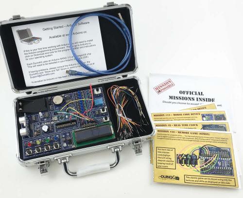 DuinoKit Jr. Arduino Based Prototyping Kit