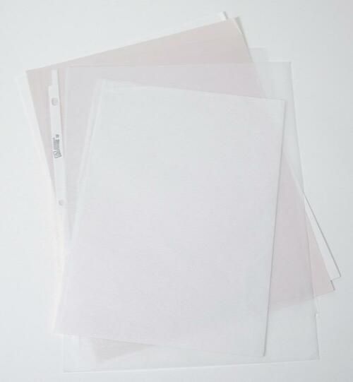 Paper, special set, 10 sheets