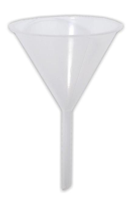 Funnel, plastic, 100 mm dia.