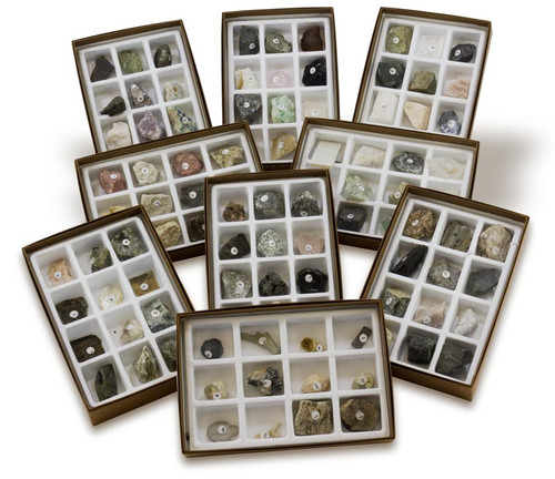 Advanced Earth Science Collection, 105 specimens