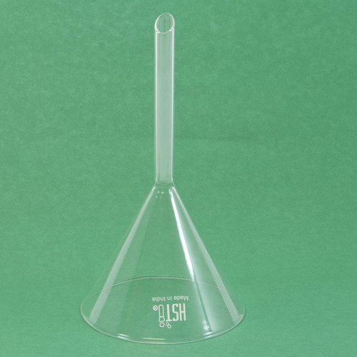 Funnel, glass, 120 mm dia.