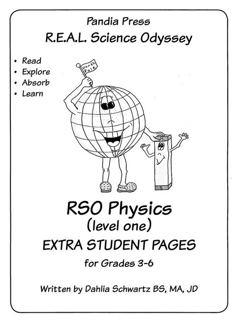 R.E.A.L. Science Odyssey Physics 1 Extra Student Pages