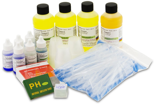 Urinalysis Using Simulated Urine Kit