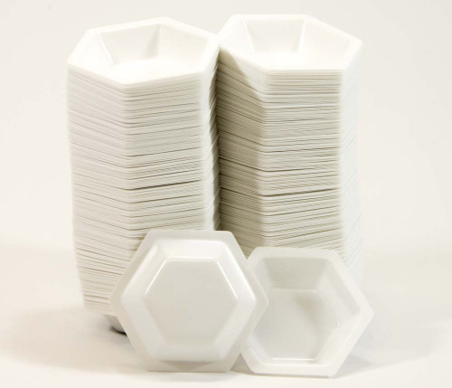 """Weighing Boats, polystyrene, 2.5"""" x 2"""", 500 pack"""