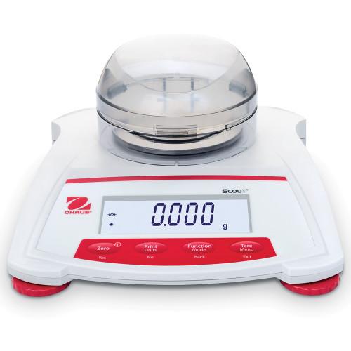 OHAUS Scout Portable Electronic Balance, SKX123, 120 g x 0.001 g