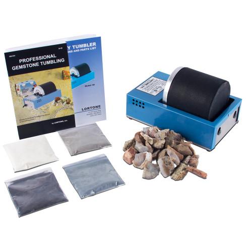 Deluxe Rock Tumbler Kit