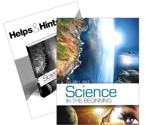 Berean Builder Science in the Beginning Textbook & Key