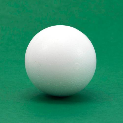 "Styrofoam ball, 3"" diameter, individual"